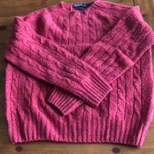 Polo - Wool and Cashmere Cable Sweater (Scotland)